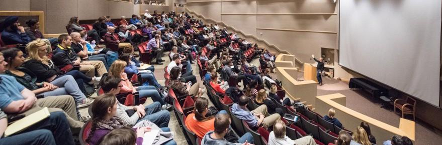 3/16/16 Dream Land Book Discussion with Sam Quinones at Ford Auditorium.