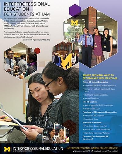 IPE for Students flier