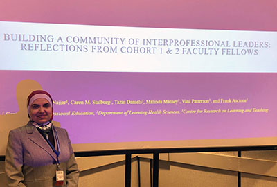 Building a Community of Interprofessional Leaders: Reflections from Cohorts 1 & 2 of Faculty Fellows, by Ghaidaa Najjar; co-authors.